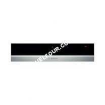 Accessoires<br/> four  bic630ns1 tiroir chauffant 14cm inox/noir Serie 8